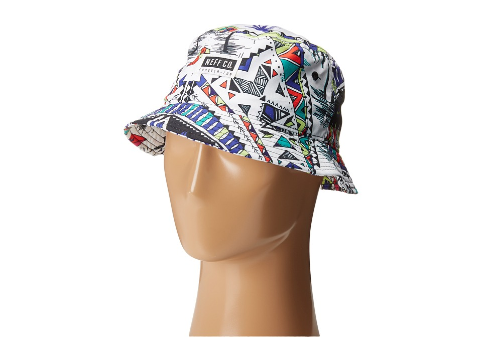 Neff - Rose Bucket (White) Baseball Caps