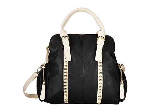 Big Buddha - Adele (Black/Bone) Handbags