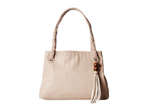 Big Buddha - Dylan (Grey) Satchel Handbags