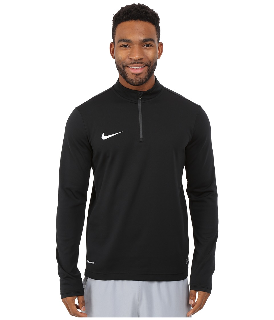 Nike - Academy Midlayer Top (Black/Anthracite/White) Men's Workout