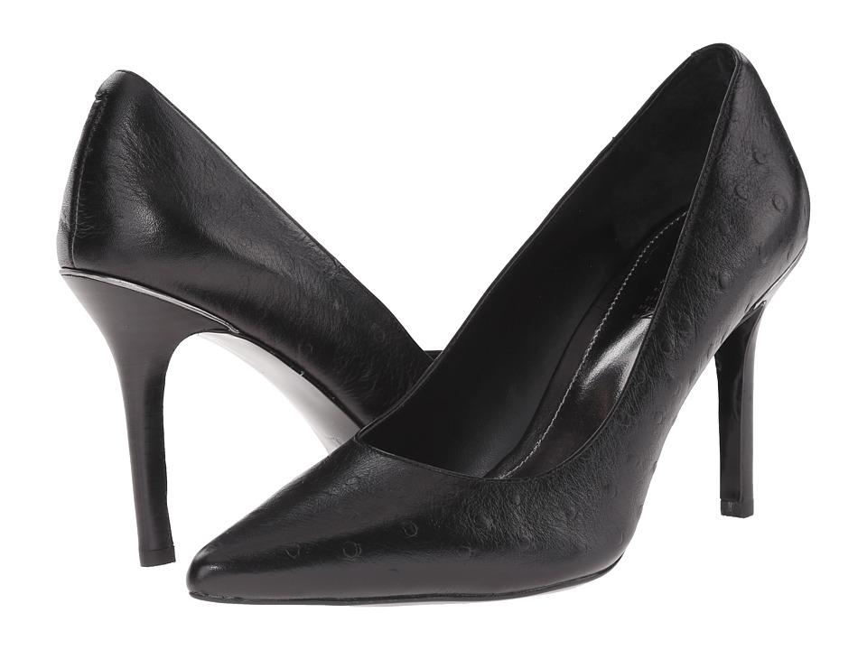 LAUREN Ralph Lauren - Sarina (Black Burnished Vachetta) High Heels
