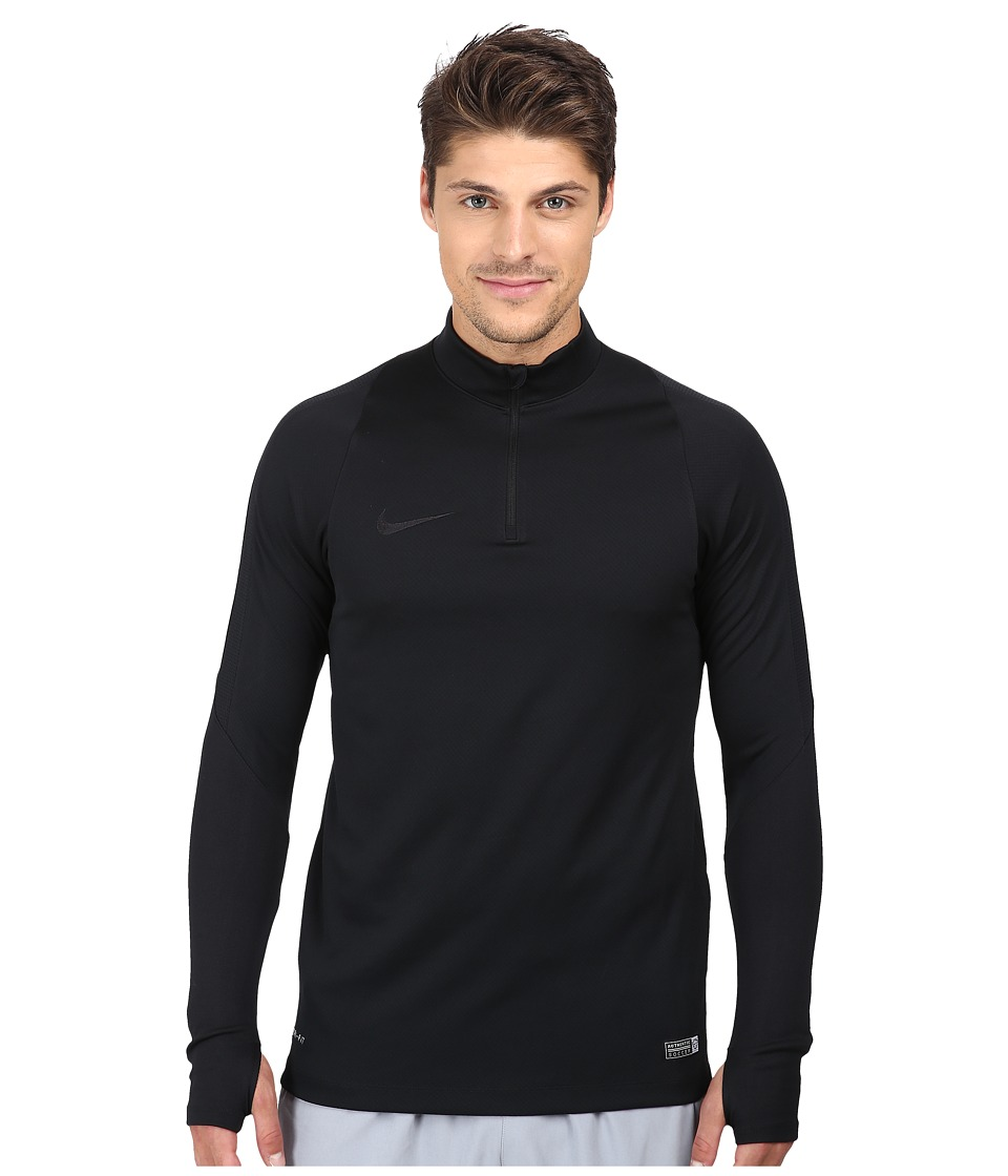 Nike - Drill Top (Black/Black) Men