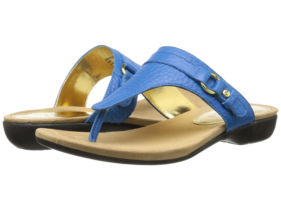LAUREN by Ralph Lauren - Kendra (Costa Rica Blue Rockpile Tumble) Women's Sandals