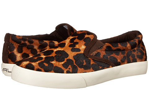 LAUREN by Ralph Lauren - Cedar II (Leopard Haircalf) Women