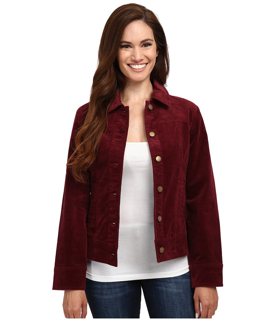 Pendleton - Petite Cassidy Corduroy Jacket (Windsor Wine) Women's Jacket