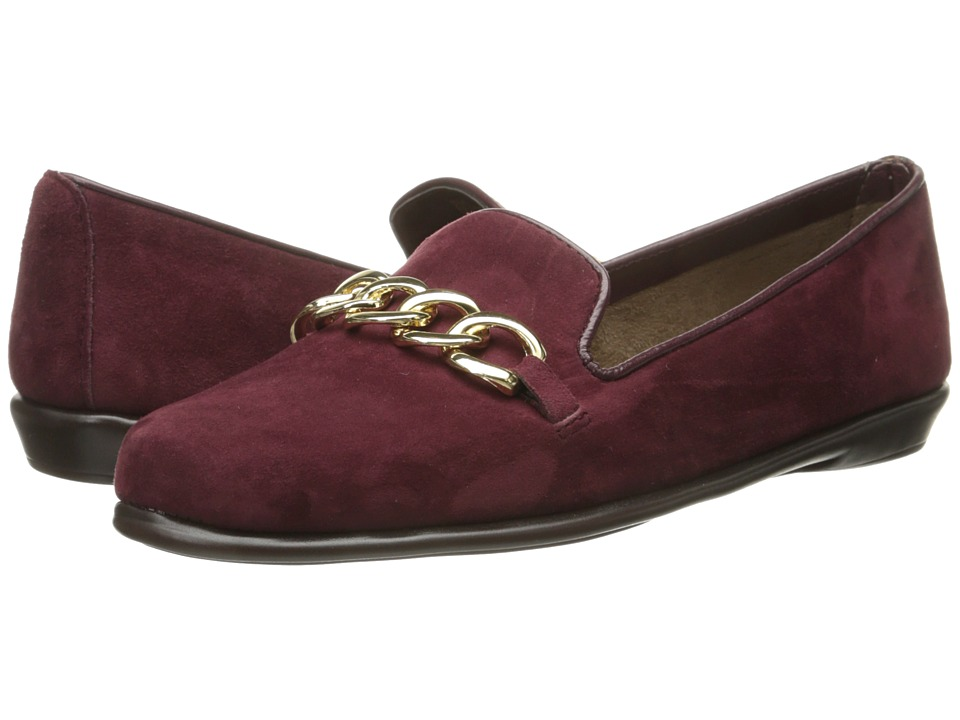 Aerosoles - Beta Ray (Wine Suede) Women's Shoes