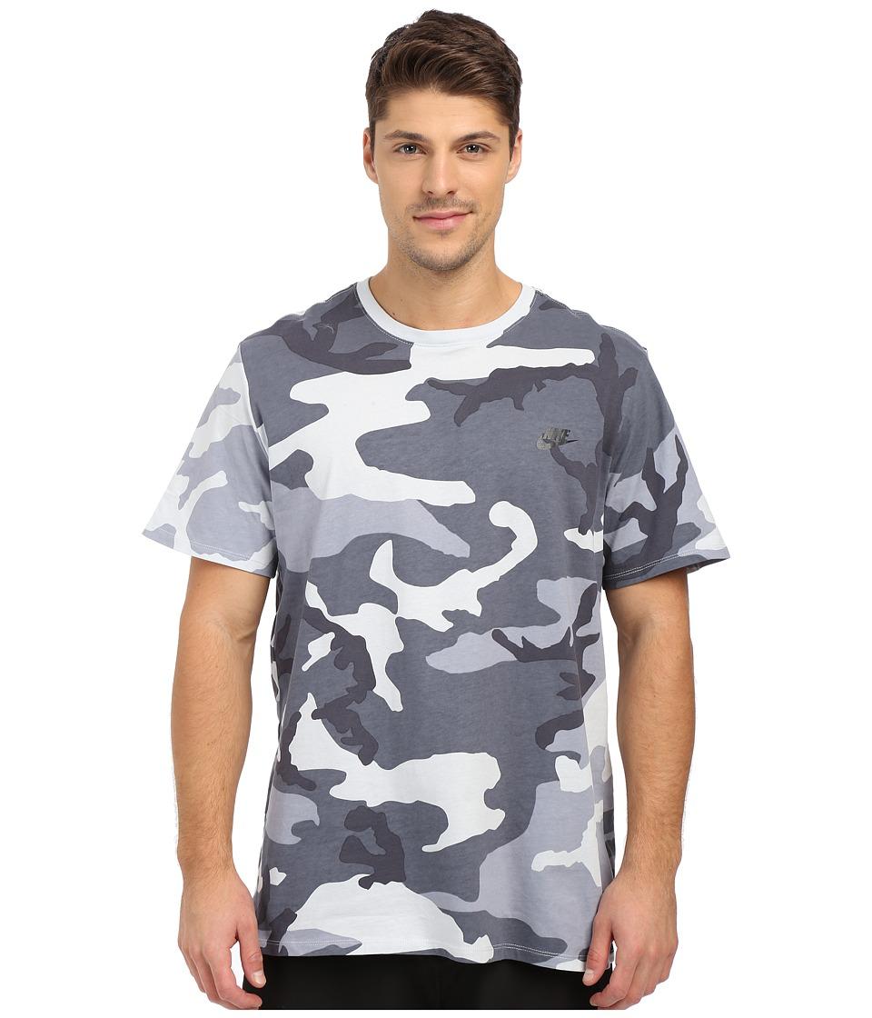Nike - Camo Futura T2 Tee (Pure Platinum) Men's T Shirt