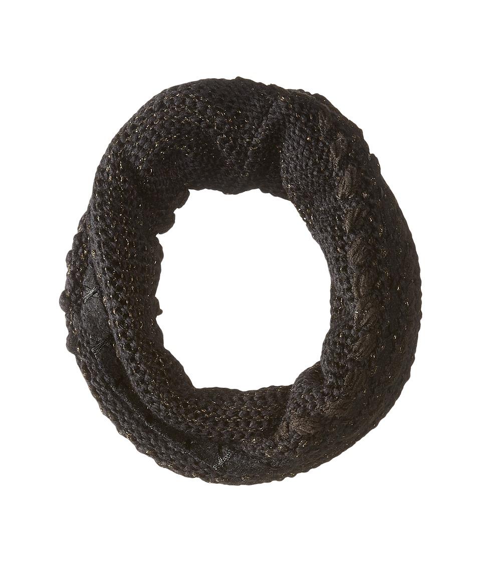 LAUREN Ralph Lauren - Multi Texture Ring (Black Tonal) Scarves