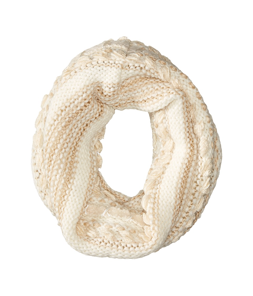LAUREN Ralph Lauren - Multi Texture Ring (Cream Tonal) Scarves