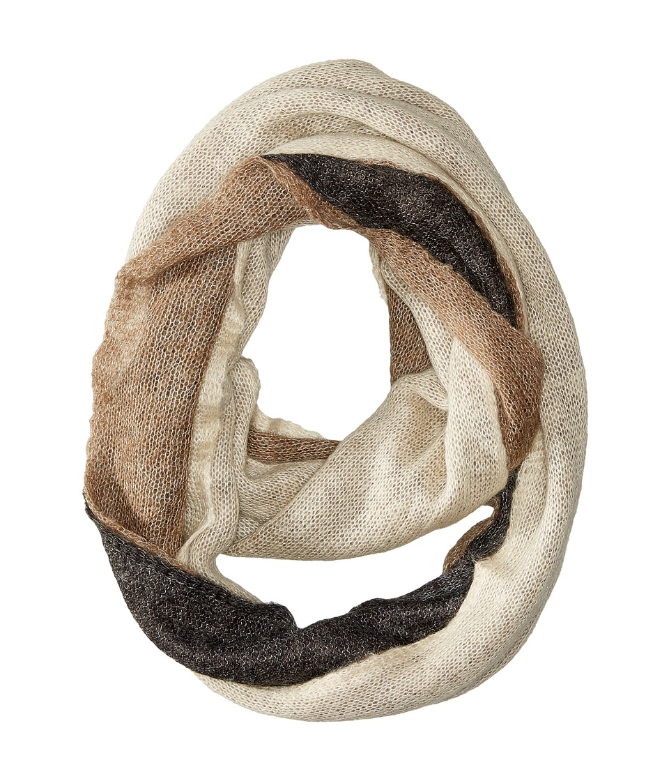 LAUREN by Ralph Lauren - Triple Layer Infinity LP Scarf (Cream Multi) Scarves