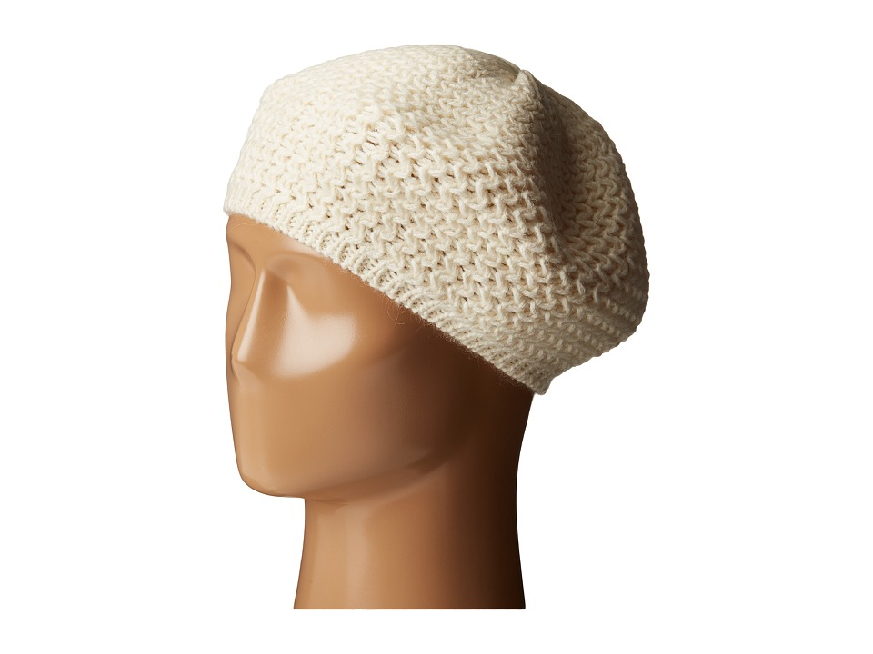 LAUREN by Ralph Lauren - Racking Stitch Beret (Modern Cream) Berets