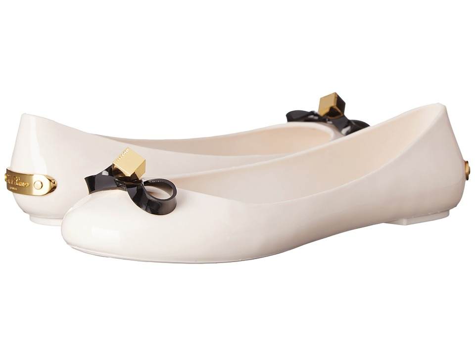 Ted Baker - Jiro (Cream/Black PVC) Women's Shoes