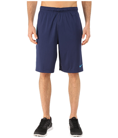 Nike - Fly Short 2.0 (Midnight Navy/Blue Lagoon/Blue Lagoon) Men