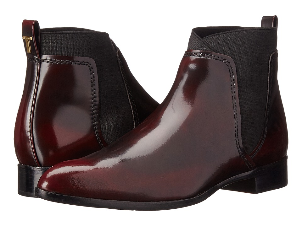 Ted Baker - Maki (Dark Red Leather) Women's Dress Pull-on Boots