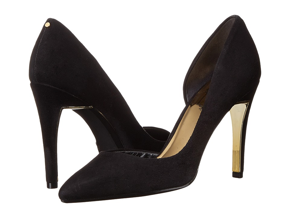 Ted Baker - Meshi (Black Suede) High Heels
