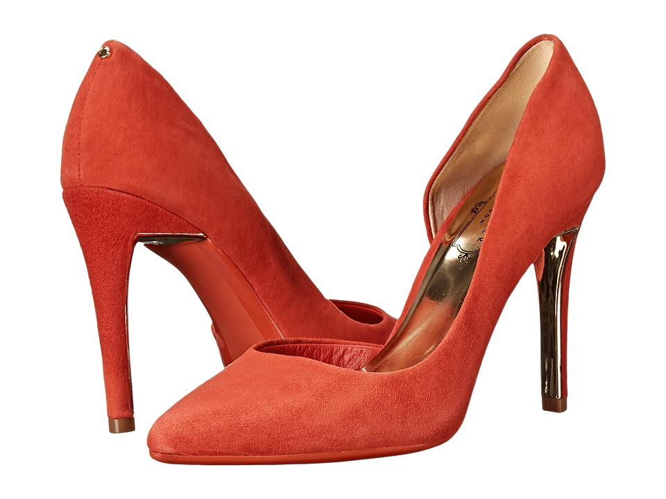 Ted Baker - Meshi (Orange Suede) High Heels