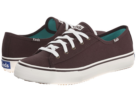 Keds - Double Up Solid (Java Canvas) Women's Shoes