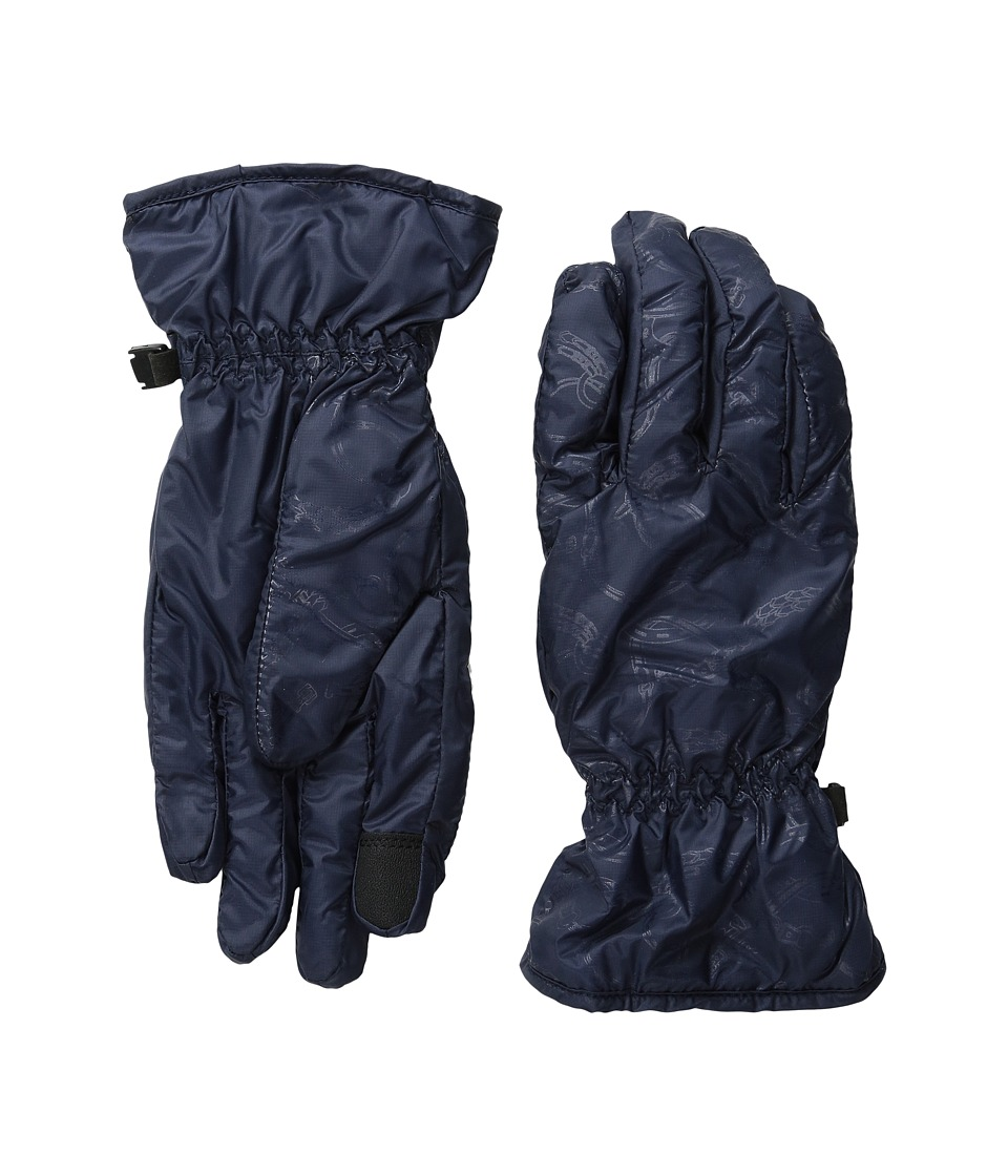 LAUREN by Ralph Lauren - Packable Nylon Touch Glove (Hunter Navy) Wool Gloves