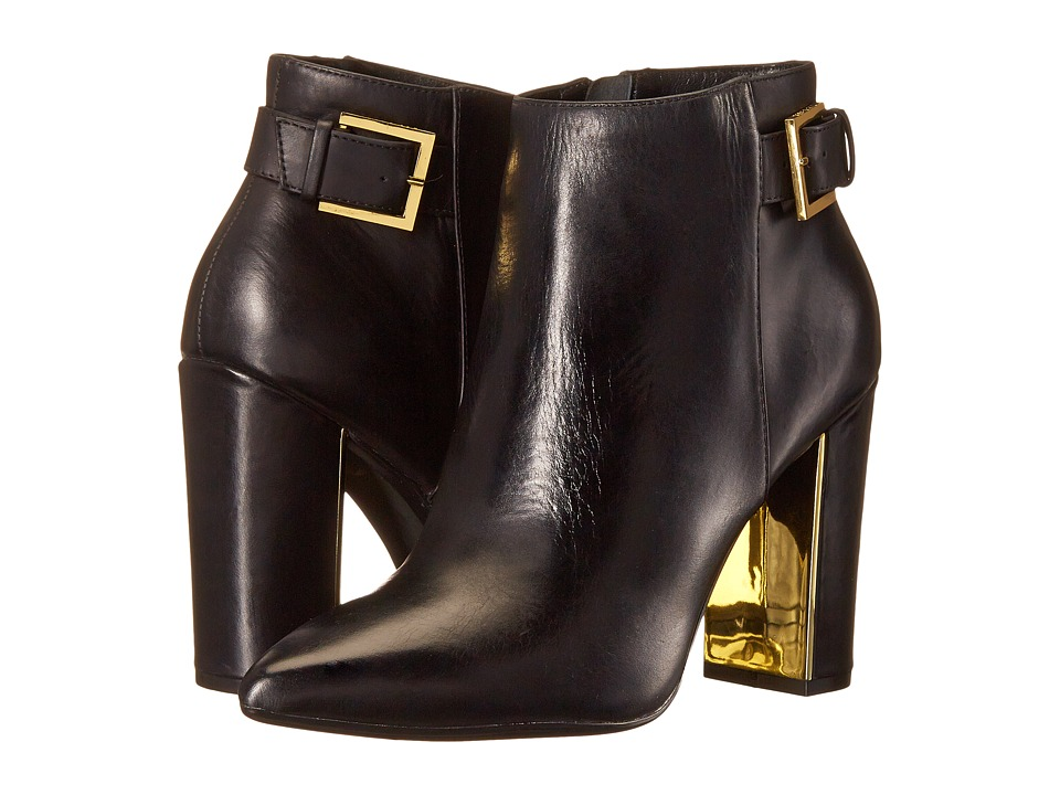 Ted Baker - Preiy (Black Leather) Women's Dress Zip Boots