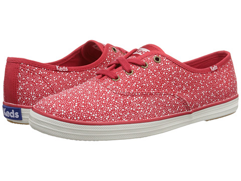 Keds - Champion Seltzer Dot (Red) Women's Lace up casual Shoes