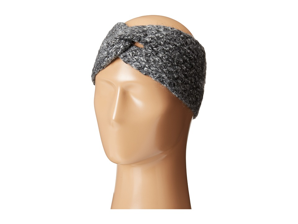 LAUREN Ralph Lauren - Oversized Honeycomb Headband (Salt & Pepper) Headband