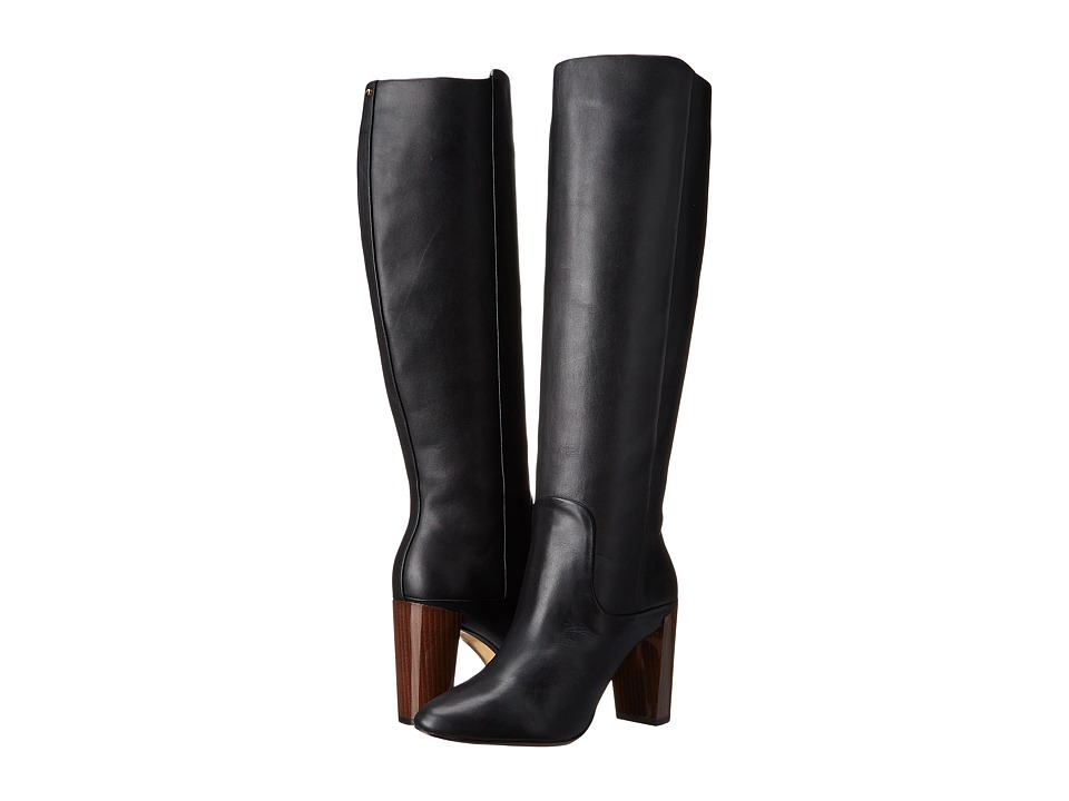 Ted Baker - Haruto (Black Leather) Women's Pull-on Boots