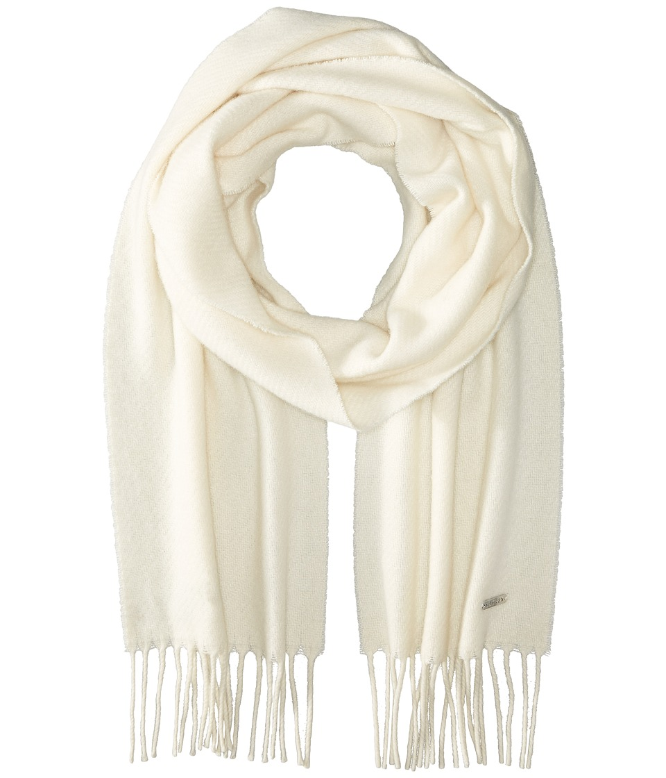 LAUREN by Ralph Lauren - Cashmere Blend Twill Muffler (Cream) Scarves