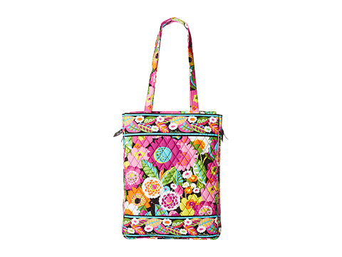 Vera Bradley - Laptop Travel Tote (Va Va Bloom) Tote Handbags