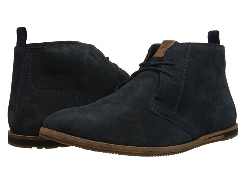 Ben Sherman - Devon (Navy Suede) Men's Lace up casual Shoes