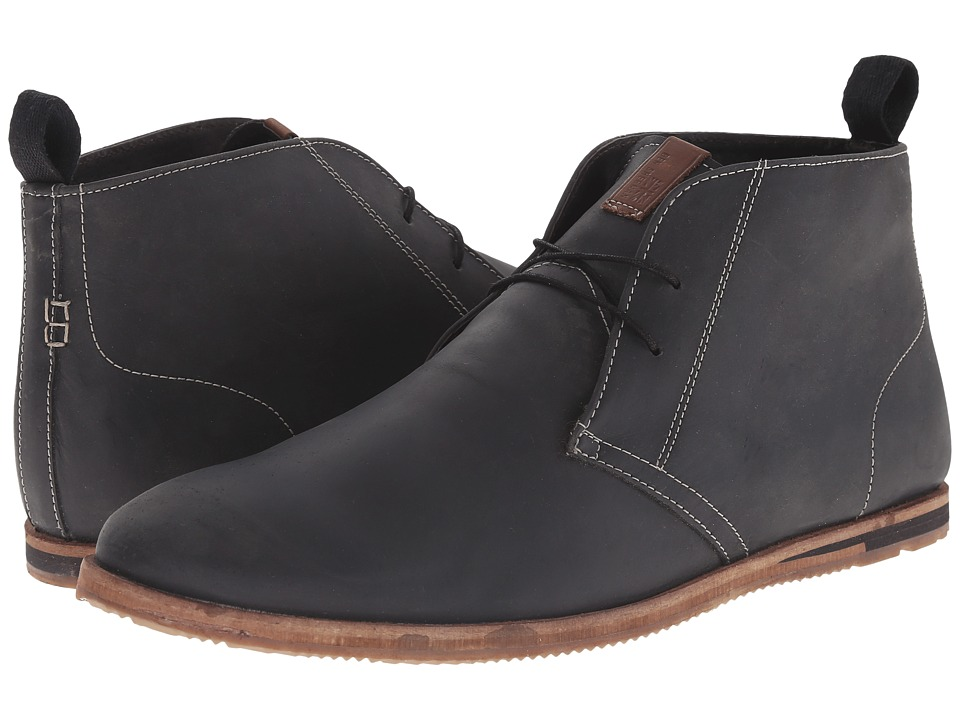 Ben Sherman - Devon (Black) Men's Lace up casual Shoes