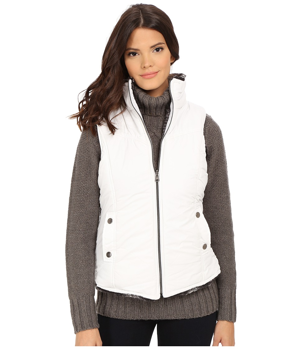 KC Collections - Reversible Seam Vest (White) Women