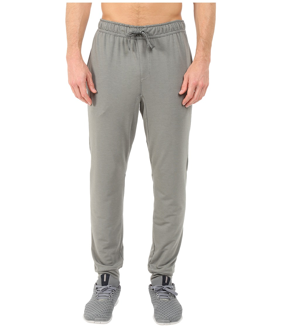 Nike - Dri-FIT Touch Fleece Pants (Tumbled Grey/Black) Men's Workout