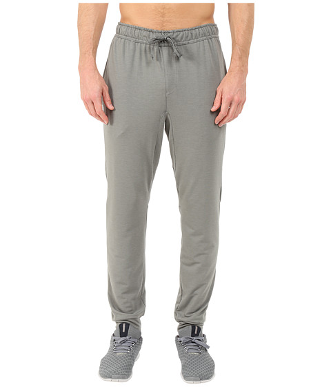 Nike - Dri-FIT Touch Fleece Pants (Tumbled Grey/Black) Men