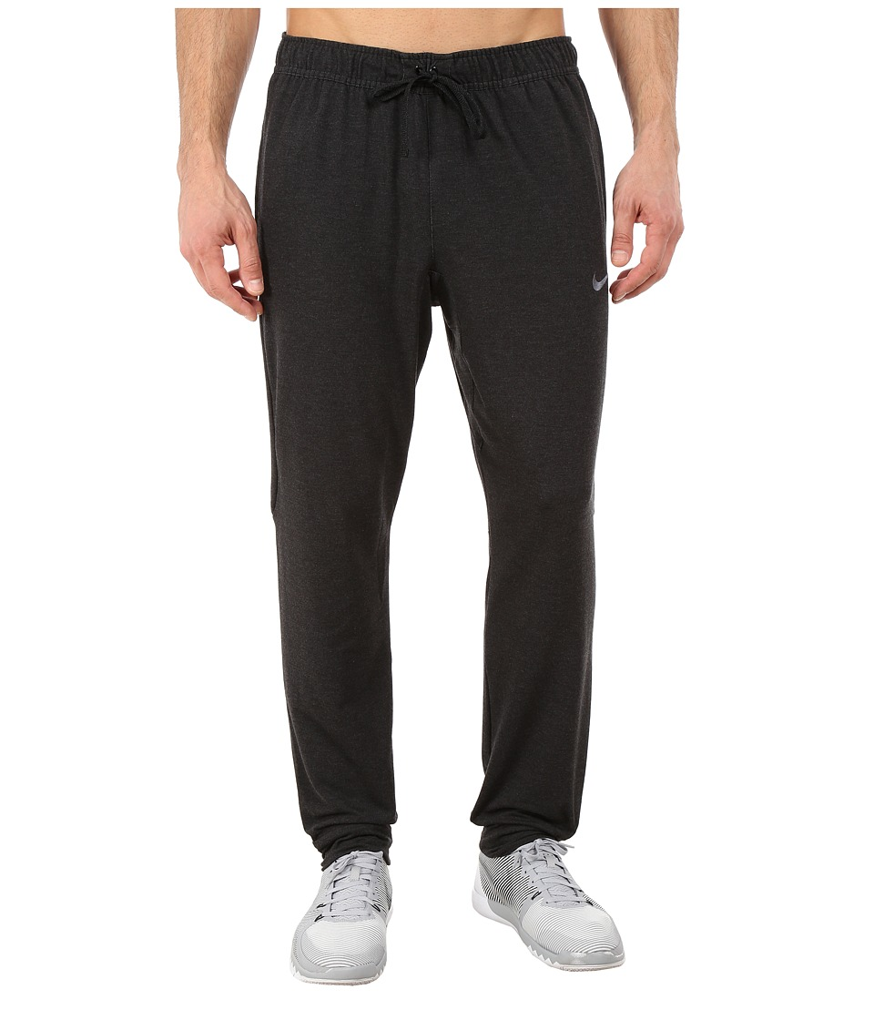 Nike - Dri-FIT Touch Fleece Pants (Black/Anthracite) Men's Workout