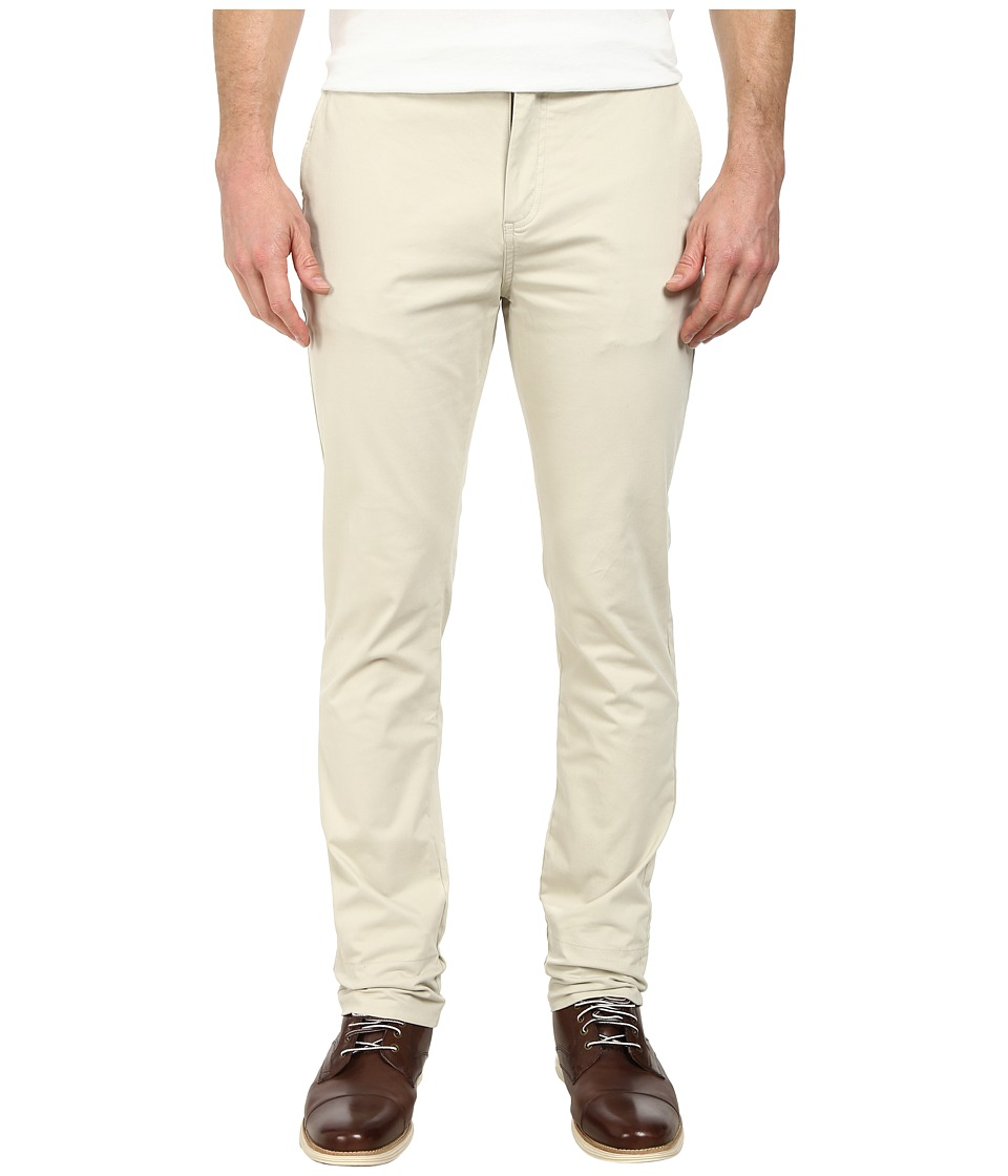 J.A.C.H.S. - Bowie Straight Fit Chino (Natural Stone) Men's Casual Pants