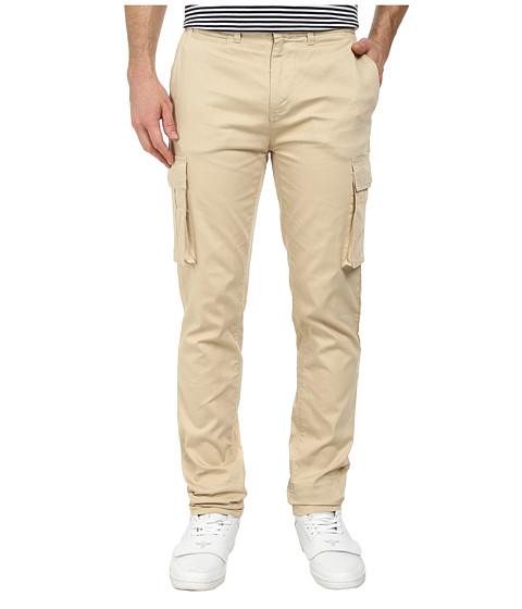 J.A.C.H.S. - Dixon Cargo Pant (Natural Stone) Men's Casual Pants