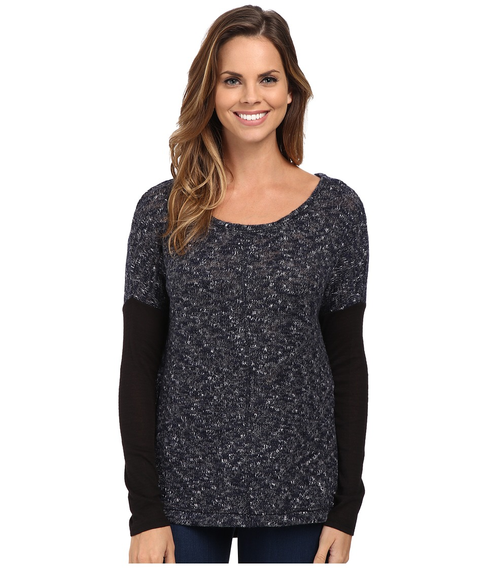 Sanctuary - Autumn Tunic (Indigo/Onyx) Women's Clothing