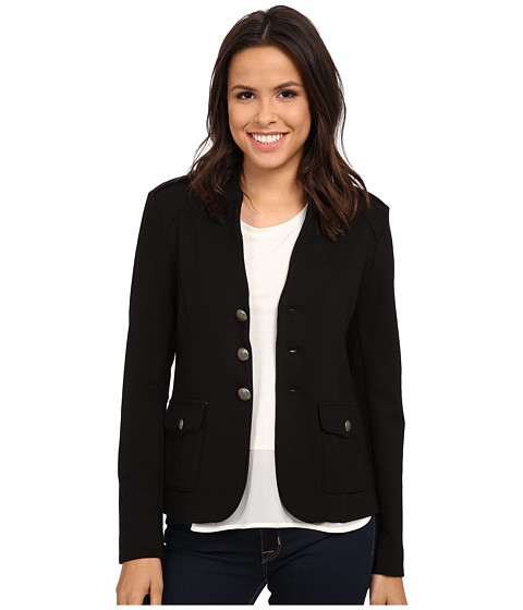 Sanctuary - Heritage Military Jacket (Black) Women's Coat