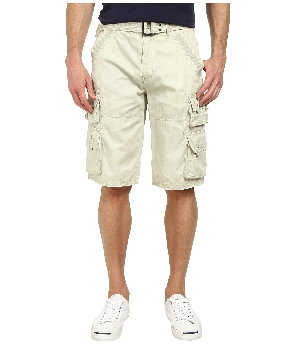 Request - Peter Cargo Shorts in Stone (Stone) Men