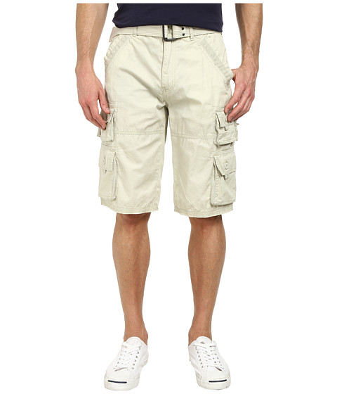 Request - Peter Cargo Shorts in Stone (Stone) Men's Shorts