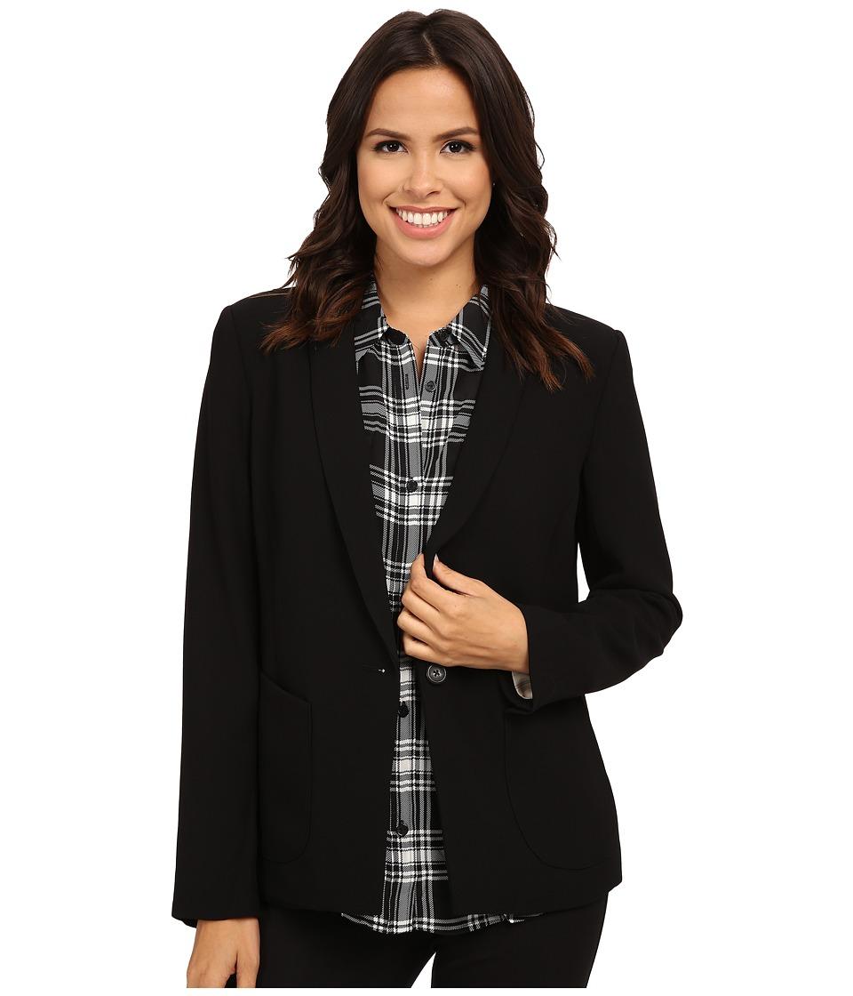 Sanctuary - Essential Tomboy Blazer (Black) Women's Jacket