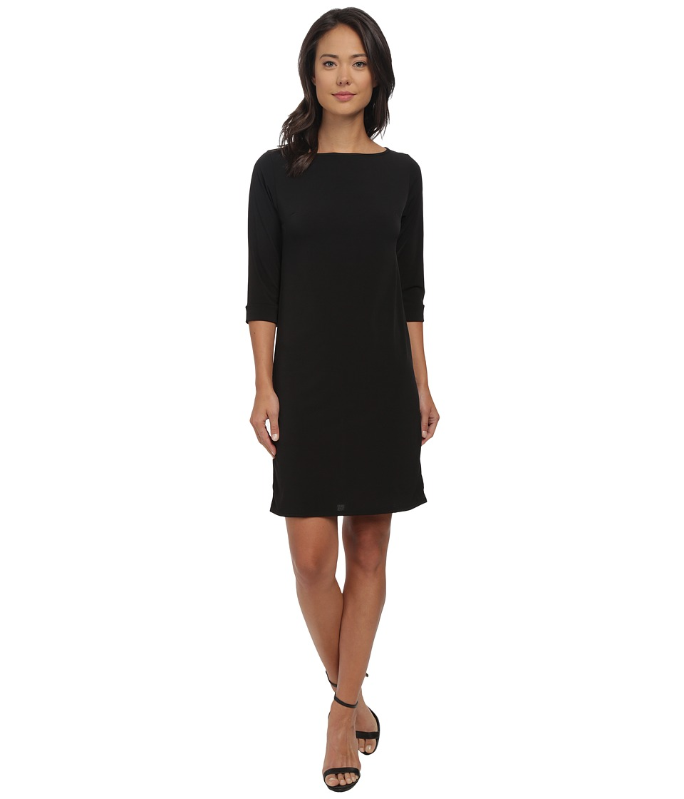 rsvp - Susan Shift Dress (Black) Women's Dress