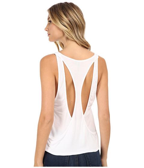 Joe's Jeans - Off Duty Cotton Modal Jersey Ami Tank Top (White) Women's Sleeveless