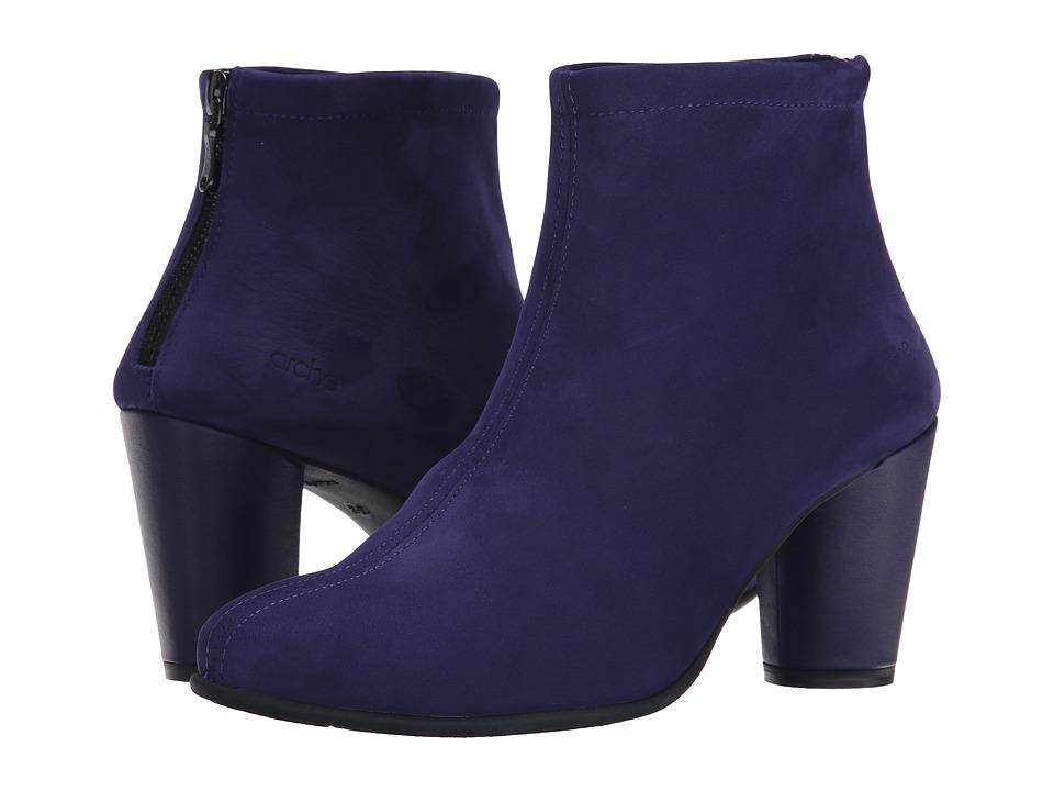 Arche - Kleri (Encre) Women's Zip Boots