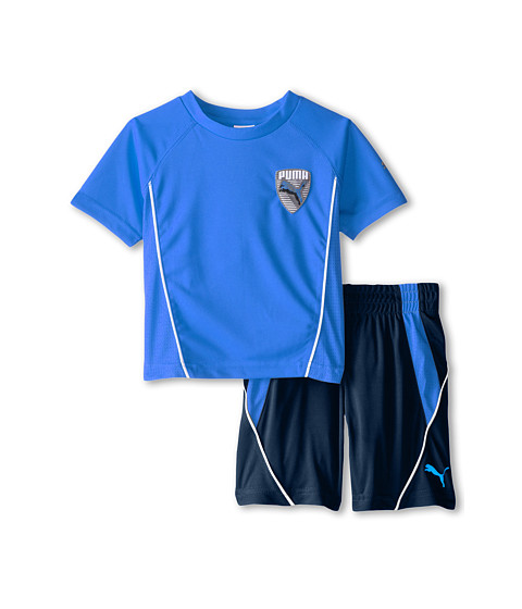 Puma Kids - Patch Set (Toddler) (Sky Blue) Boy