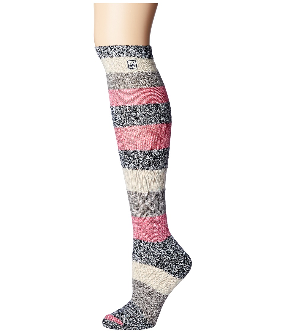 Sperry Top-Sider - Specialty Knee Highs (Ivory/Cabaret) Women's Knee High Socks Shoes