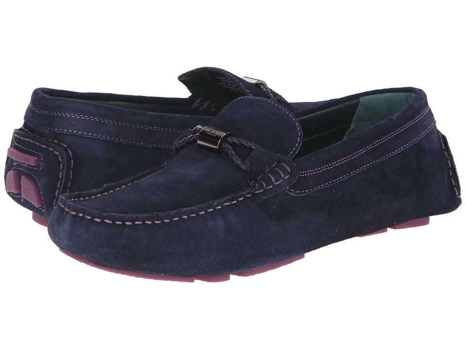 Ted Baker - Carlsun (Dark Blue Suede) Men's Shoes