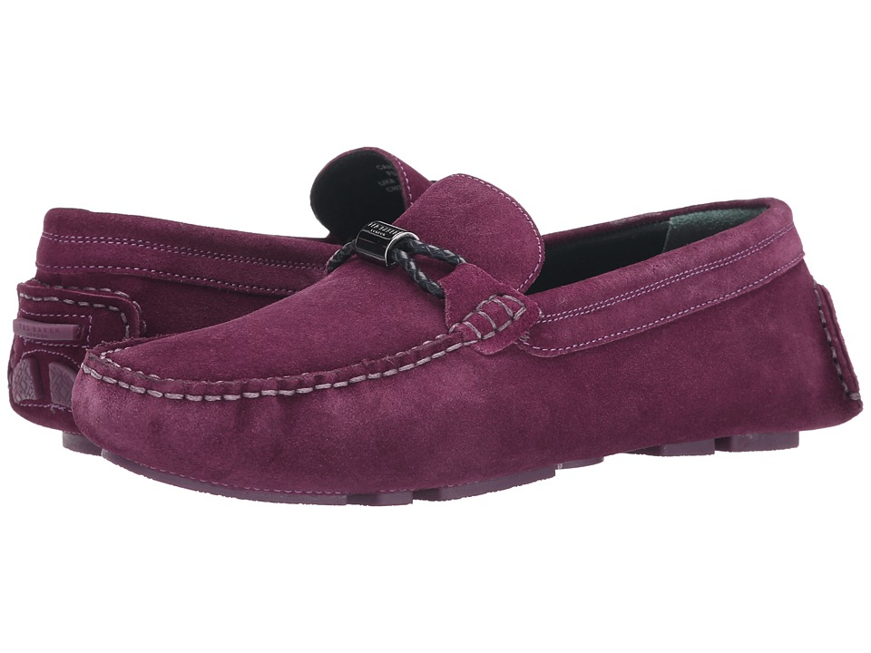 Ted Baker - Carlsun (Dark Purple Suede) Men's Shoes