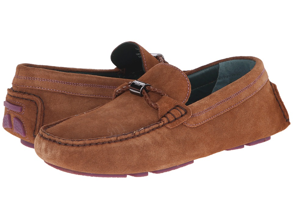 Ted Baker - Carlsun (Dark Tan Suede) Men's Shoes