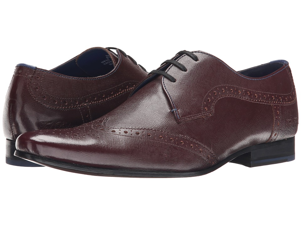 Ted Baker - Hann (Dark Red Exotic) Men